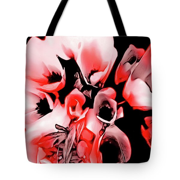 Poppies Bouquet Tote Bag