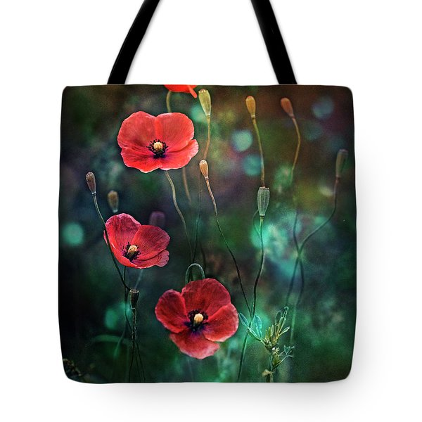 Poppies Fairytale Tote Bag