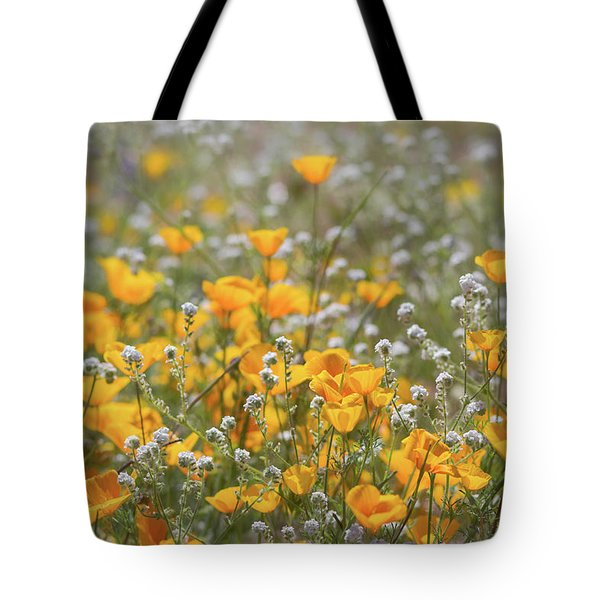 Tote Bag featuring the photograph Poppies Fields Forever  by Saija Lehtonen