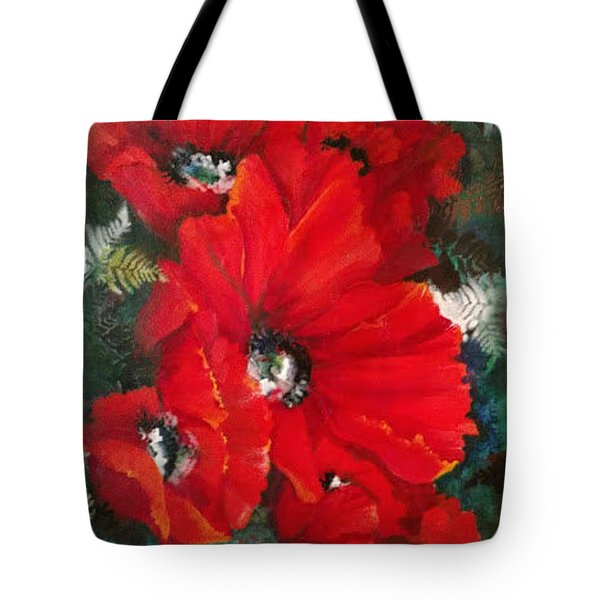 Poppies In Light Tote Bag