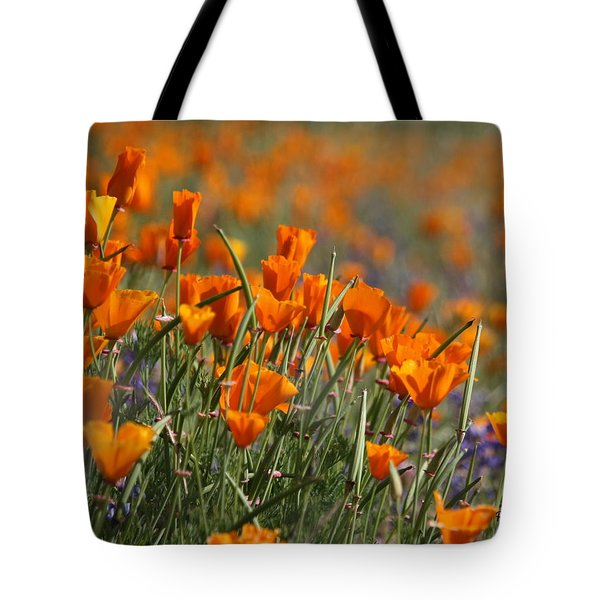 Tote Bag featuring the photograph Poppies by Patrick Witz