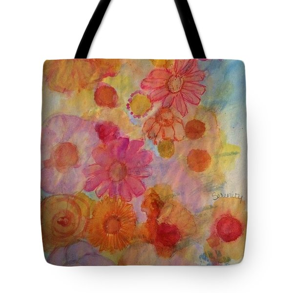 Tote Bag featuring the painting Popping by Kim Nelson