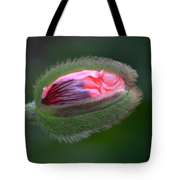 Popping Poppy. Tote Bag