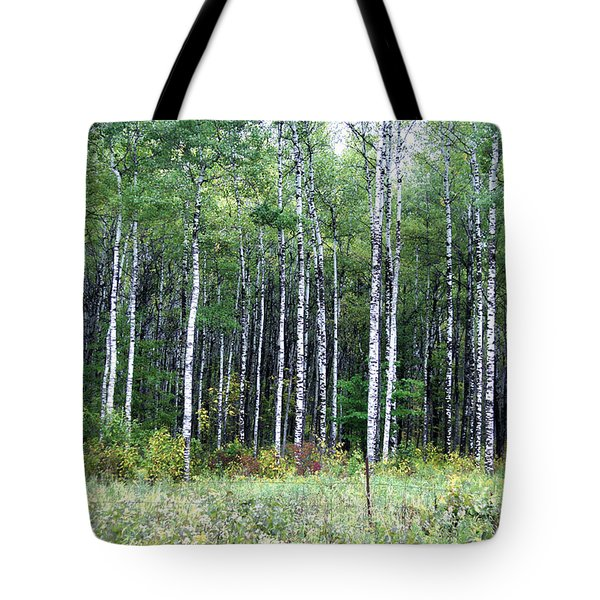 Popple Trees Tote Bag