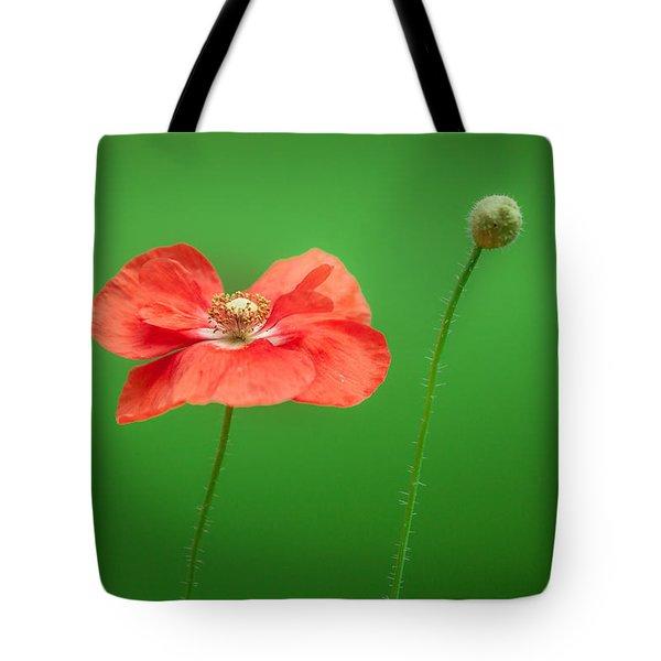 Poppy Tote Bag by Bulik Elena