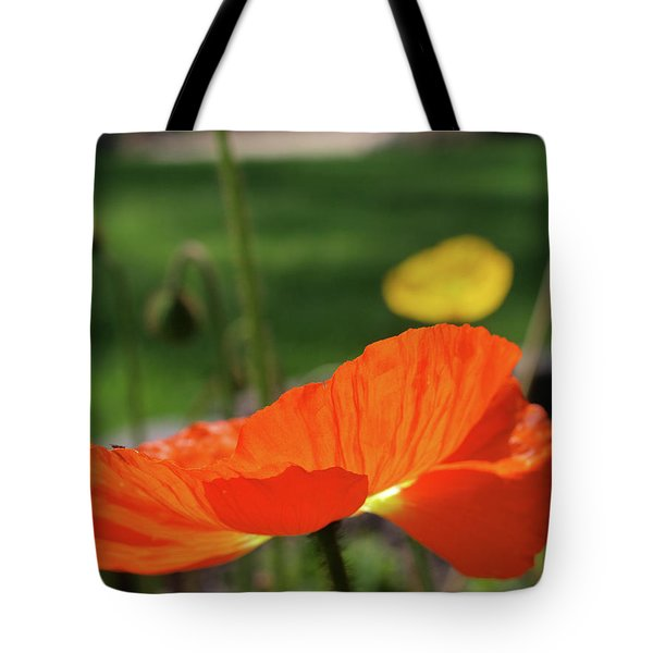 Poppy Cup Tote Bag