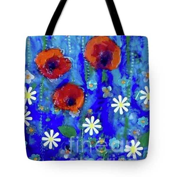 Poppy Dance Tote Bag