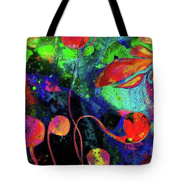 Poppy Enchantment Tote Bag