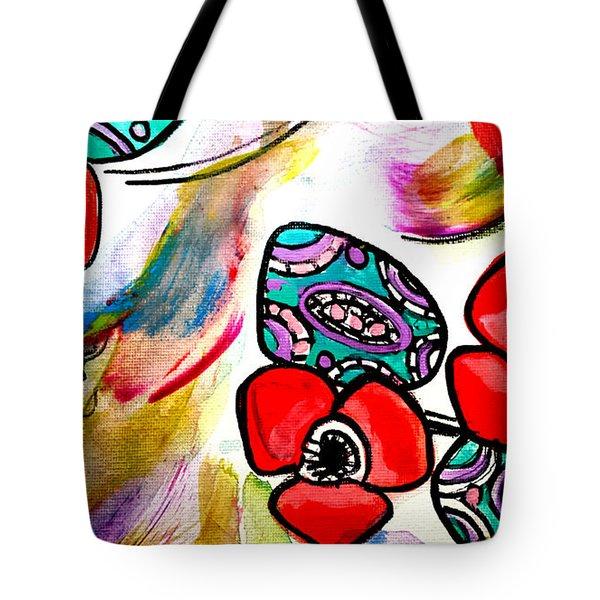 Poppy Fun Tote Bag