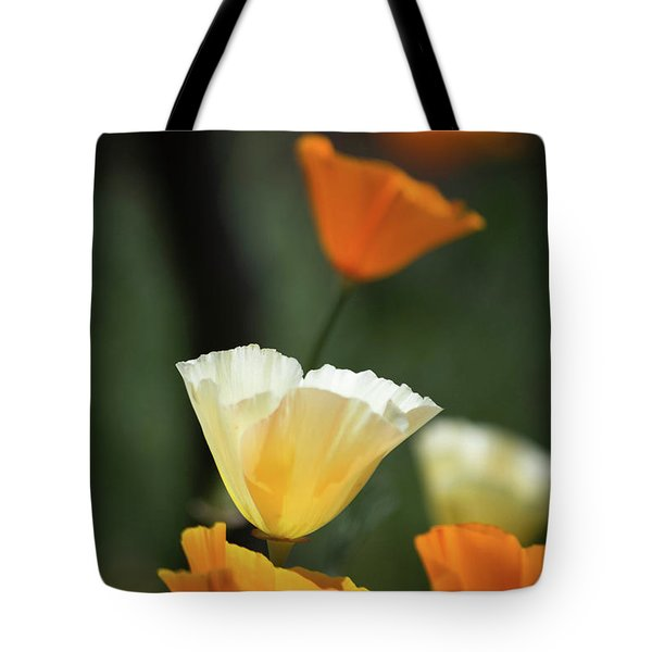 Poppy Glow Tote Bag