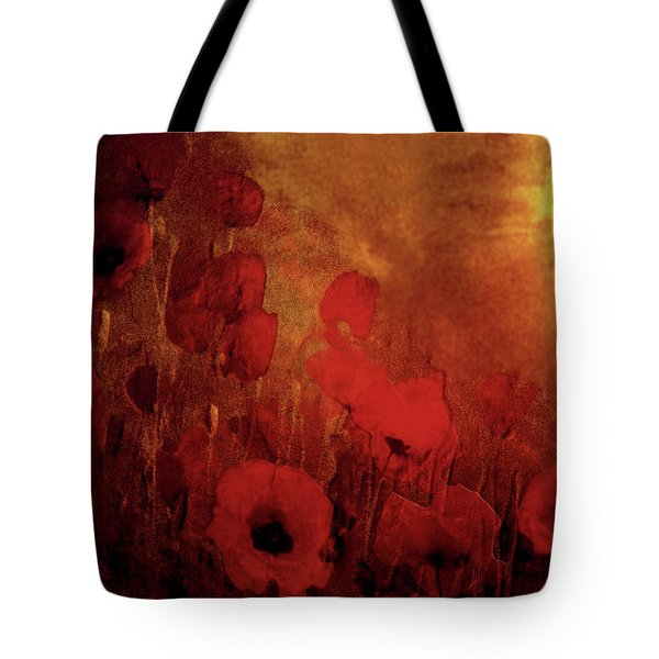 Poppy Heaven Tote Bag