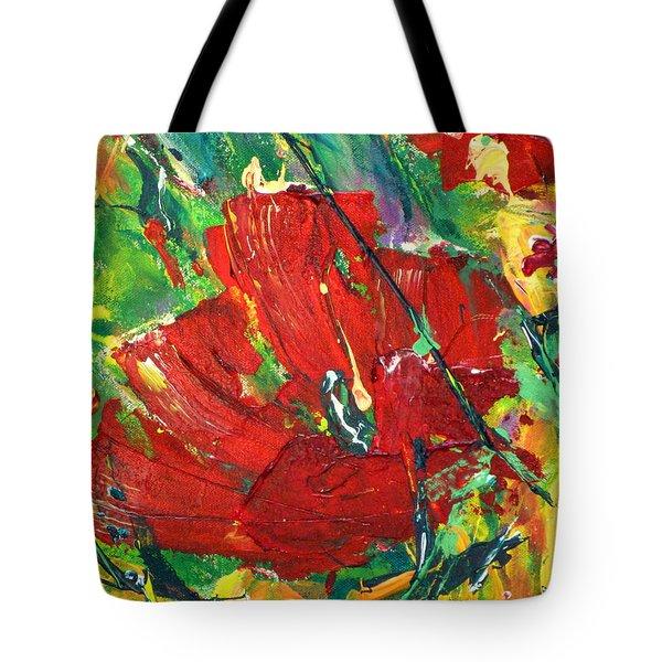 Poppy II Tote Bag