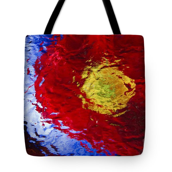 Poppy Impressions Tote Bag by Jeanette French