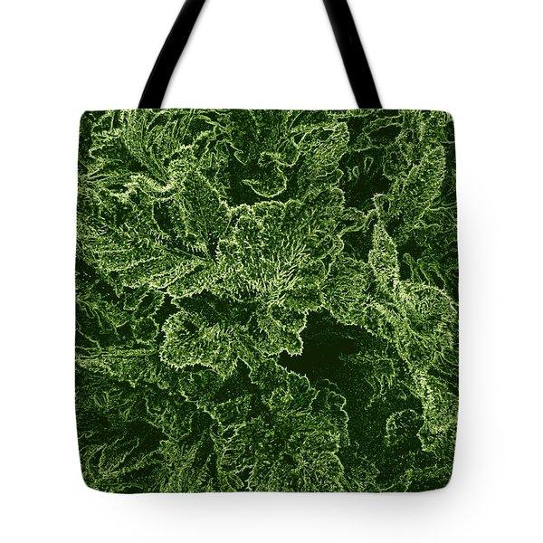 Poppy Leaves Tote Bag