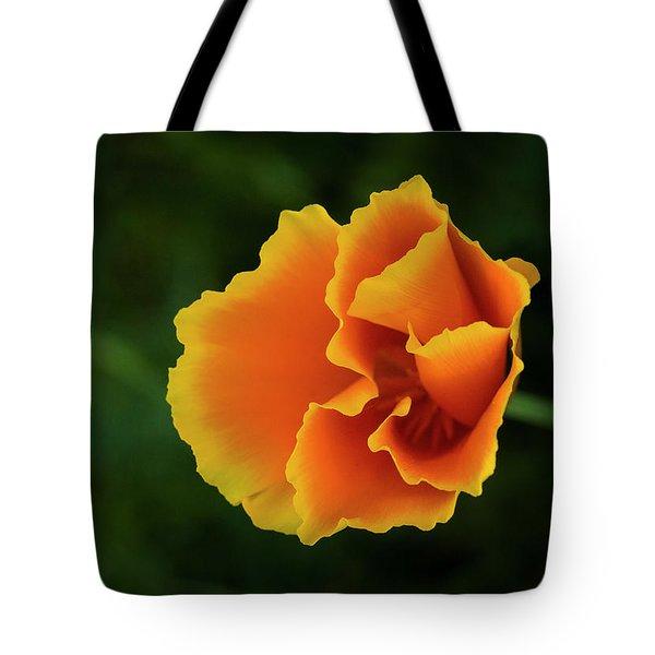 Poppy Orange Tote Bag