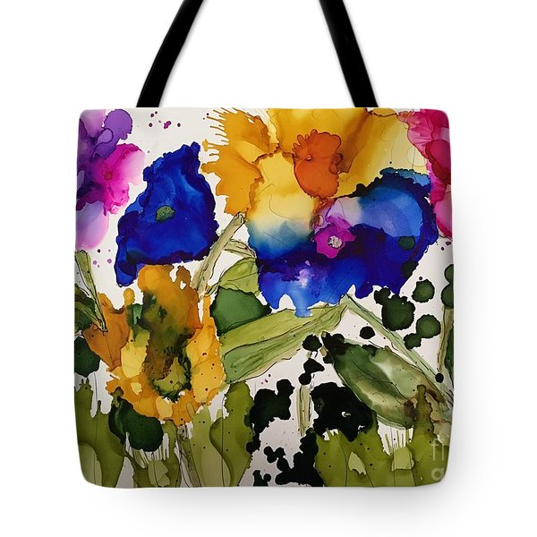 Poppy Party Tote Bag