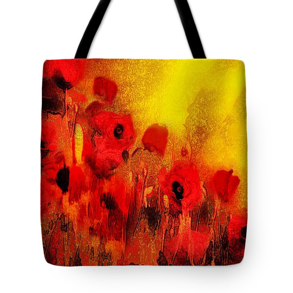 Poppy Reverie Tote Bag