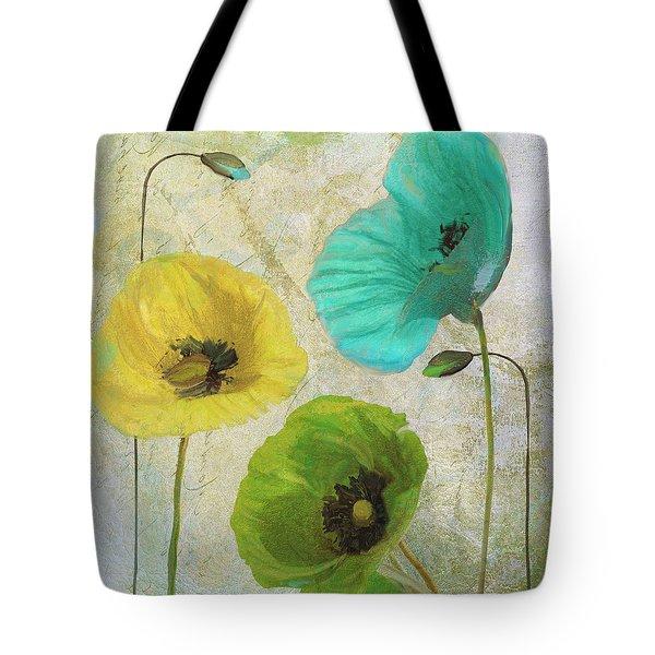 Poppy Shimmer I Tote Bag