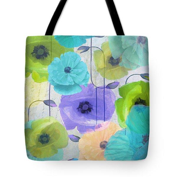 Poppy Shimmer Iv Tote Bag