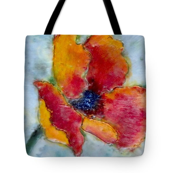 Poppy Smile Tote Bag