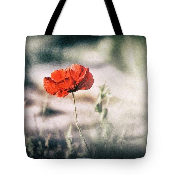 Poppy Stories 2 Tote Bag