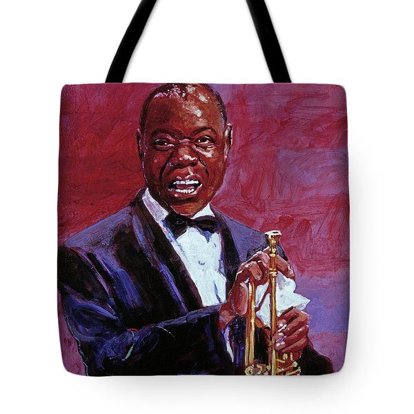 Pops Armstrong Tote Bag