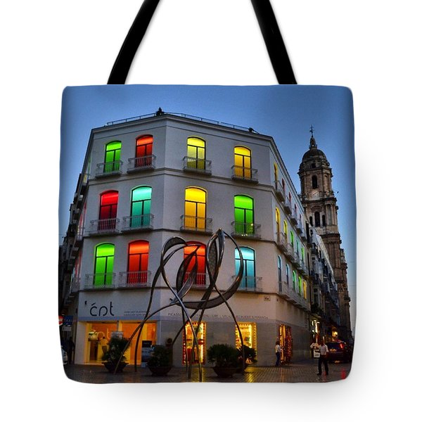 Por Las Calles Del Centro Historico De Tote Bag by Carlos Alkmin
