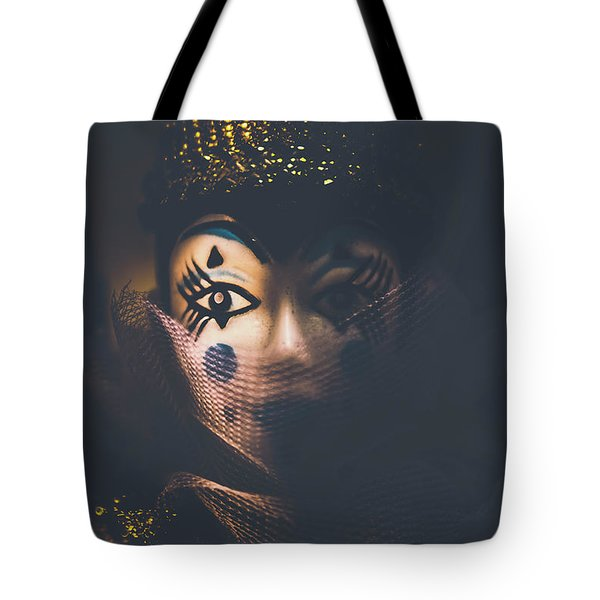 Porcelain Doll. Performing Arts Event Tote Bag