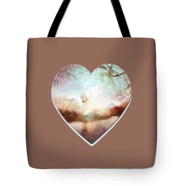 Porcelain Skies Tote Bag