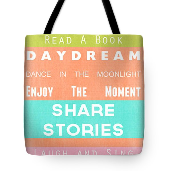 Porch Rules Tote Bag