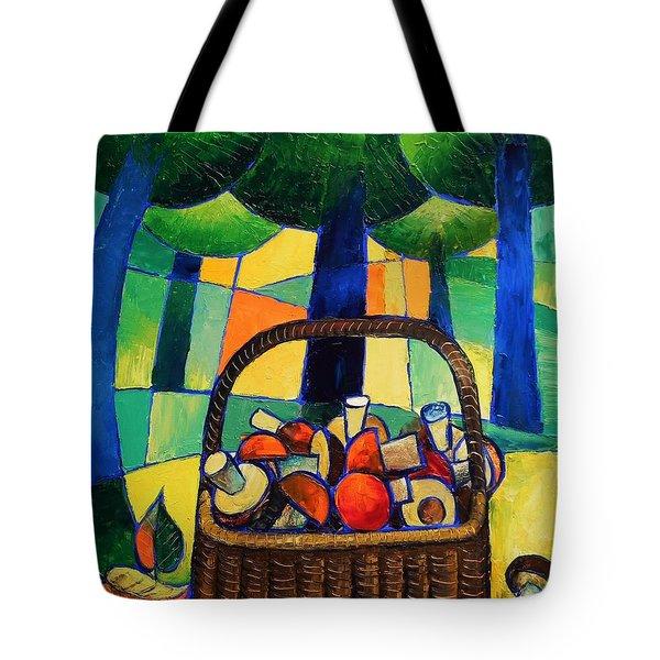 Porcini Tote Bag by Mikhail Zarovny
