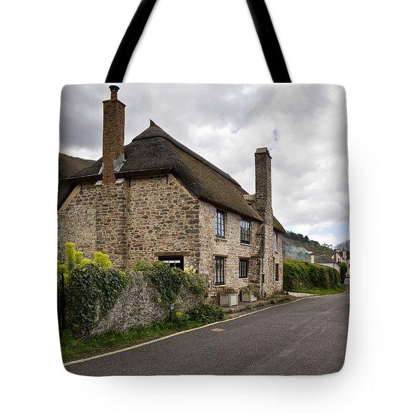 Porlock Weir Tote Bag by Shirley Mitchell