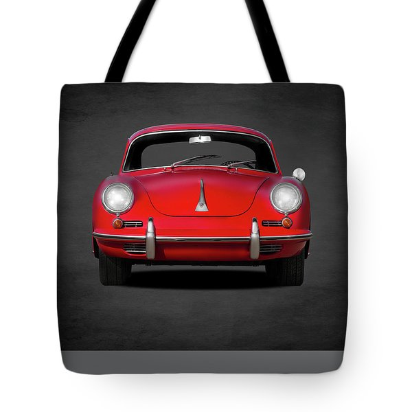 Porsche 356 Tote Bag by Mark Rogan