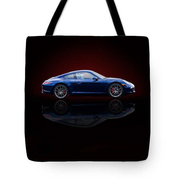 Porsche 911 Carrera - Blue Tote Bag