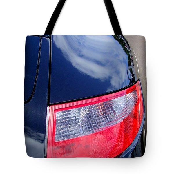 Porsche 911 Carrera S Tail Light Tote Bag