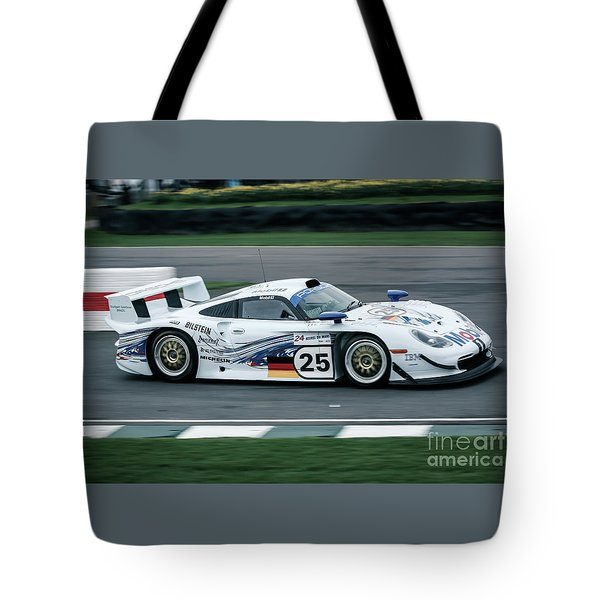 Porsche 911 Gt1 Strassenversion Tote Bag