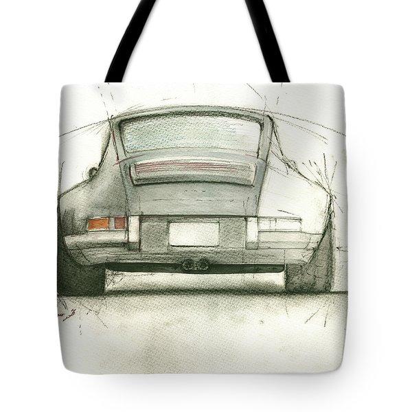 Porsche 911 Rs Tote Bag