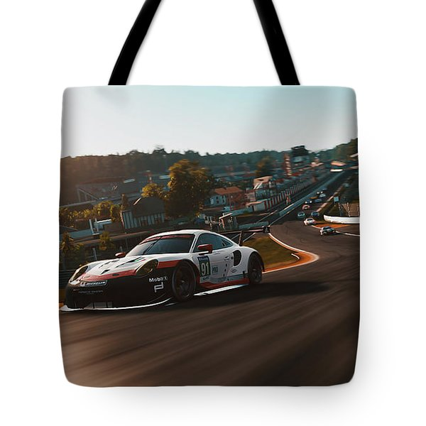Porsche 911 Rsr, Spa-francorchamps - 33 Tote Bag