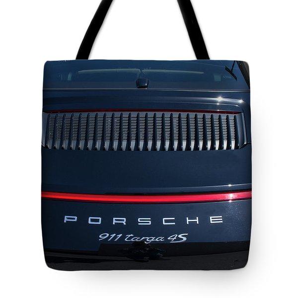 Porsche 911 Targa 4s Tote Bag