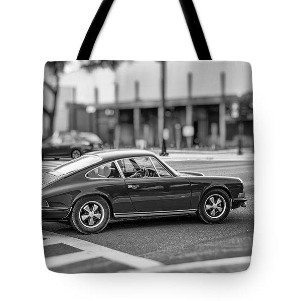 Tote Bag featuring the photograph Porsche 911e by Howard Salmon