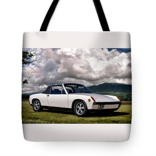 Porsche 914 Tote Bag