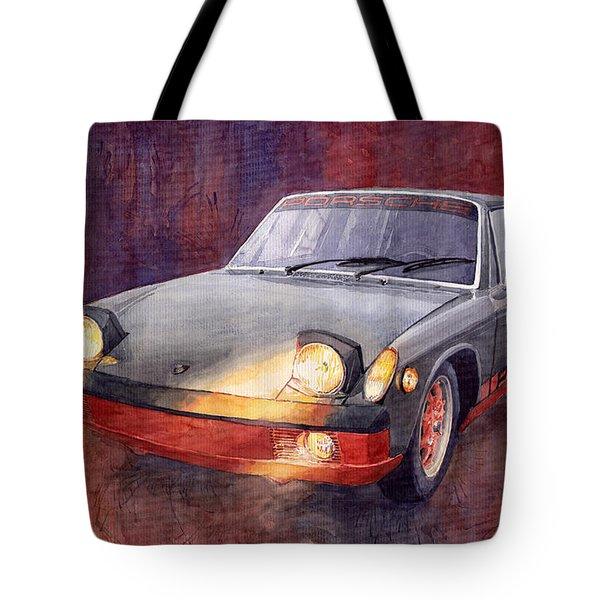 1970 Porsche 914 Tote Bag