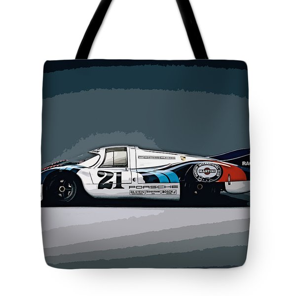 Porsche 917 Longtail 1971 Tote Bag