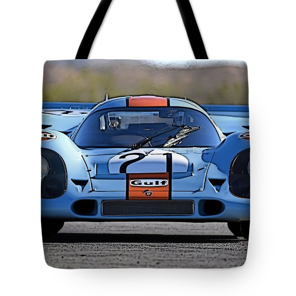 Porsche 917 Shorttail Tote Bag