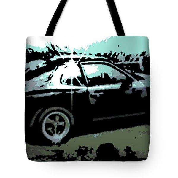 Porsche 944 Tote Bag by George Pedro