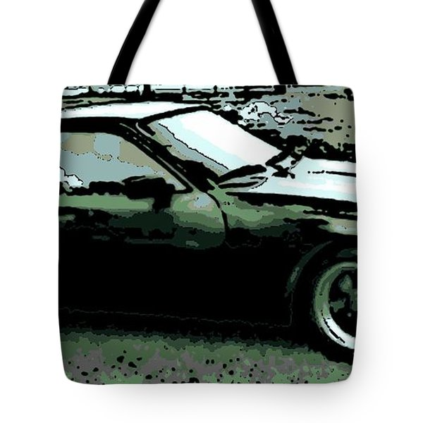 Porsche 944 On A Hot Afternoon Tote Bag