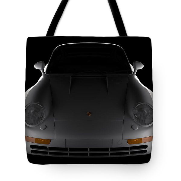 Porsche 959 - Front View Tote Bag