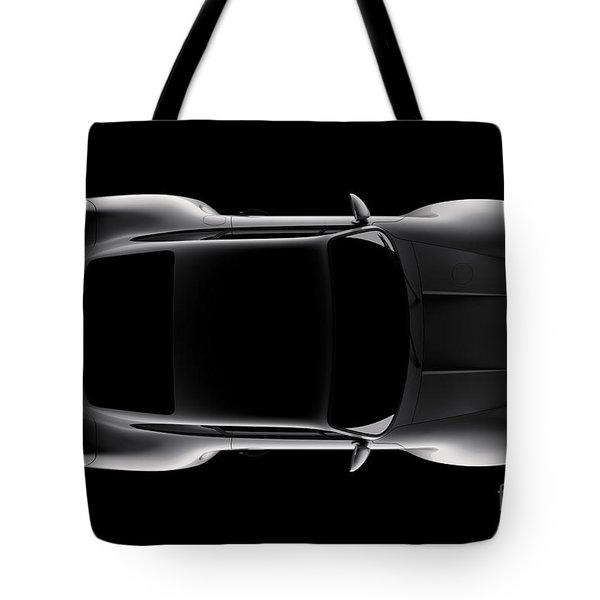 Porsche 959 - Top View Tote Bag