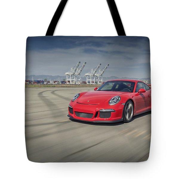 Porsche 991 Gt3 Tote Bag