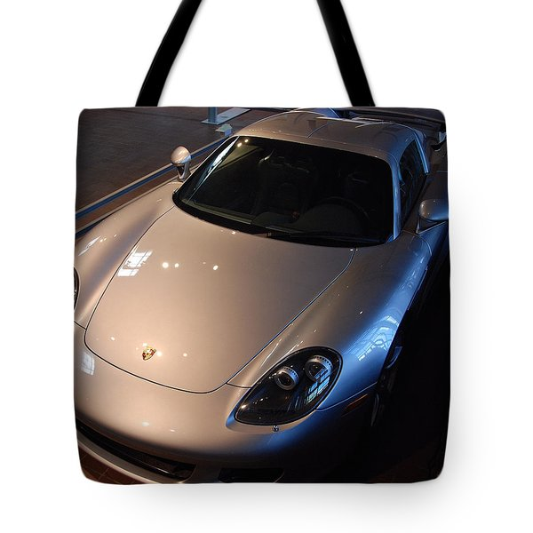 Porsche Carrera G T Tote Bag
